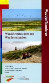 Wandelgids Wandelroutes over Zes waddeneilanden | Wandelnet | ISBN 9789071068874
