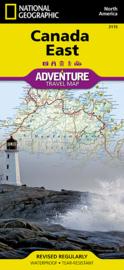 Wegenkaart National Geographic Canada East | 1: 2,1 miljoen | ISBN 9781566956376