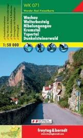Wandelkaart Wachau - Welterbesteig | Freytag & Berndt 071 | ISBN 9783850847094