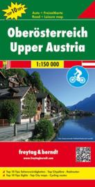 Fiets- & Wegenkaart Oberösterreich - Salzkammergut | Freytag & Berndt 02 | 1:200.000 | ISBN 9783707904437