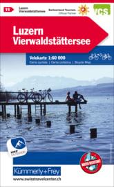 Fietskaart Luzern / Vierwaldstättersee | Kümmerly+Frey nr. 11 | 1:60.000 | ISBN 9783259024119