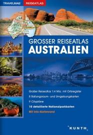 Wegenatlas Australië | Kunth Verlag | 1:4 miljoen | ISBN 9783955043544