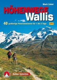 Wandelgids Höhenwege im Wallis | Rother Verlag | ISBN 9783763331284