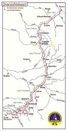 Fietsgids Fietsroute Langs oude Wegen Deel 2  | Pirola | van Nevers naar Oloron-Ste Marie | ISBN 9789064558566