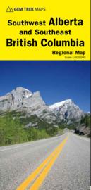 Wegenkaart  Alberta Southwest & Southeast British Columbia No. 3 | GEM Trek |  1:500.000 | ISBN 9781895526936