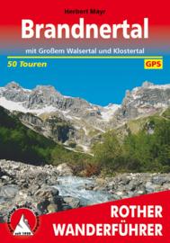 Wandelgids Rother Brandtnertal | Rother Verlag | mit Großem Walsertal und Klostertal | ISBN 9783763340354
