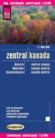 Wegenkaart Centraal Canada | Reise Know-How | 1:1,9 miljoen | ISBN 9783831772247