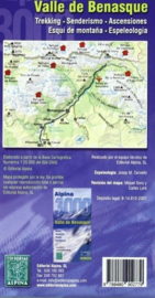 Wandelkaart Valle de Benasque | Editorial Alpina | Centrale Pyreneeën | 1:30.000 | ISBN 9788480902779