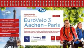 Fietsgids Eurovelo 3: Aachen - Paris, Aken - Parijs - 520 km | BVA -ADFC | ISBN 9783969900352