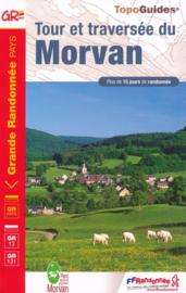 Wandelgids Tour et Traversee du Morvan   FFRP 111   ISBN 9782751410659