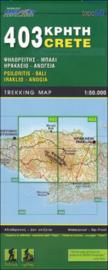 Wandelkaart Psiloritis-Iraklio | Road editions 403 | I 1:50.000 | SBN 9789604489510