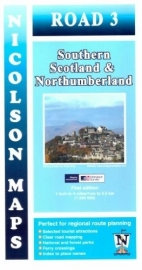 Wegenkaart  South Scotland & Northumberland | Nicolson 03 | ISBN 9781860973369 | 1:250.000