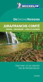 Reisgids Franche Comté - Jura | Michelin  Groene Gids |  (Vesoul - Besançon - Lons-le-Saunier - Nantua) | ISBN 9789020994667