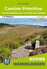 Wandelgids-Trekkinggids Camino Primitivo | Elmar Rother NL | Pelgrimsgids Primitivo | ISBN 9789038926919