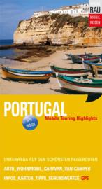 Campergids Portugal -  Mit dem Wohnmobil nach Portugal | Werner Rau Verlag | ISBN 9783926145642