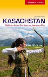Reisgids Kazachstan entdecken   Trescher Verlag   ISBN 9783897945108