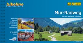 Fietsgids Mur Radweg : Stickler Hütte - Legrad (Slovenïe) -  470 km | Bikeline | Fietsen langs de Mur | ISBN 9783850009584