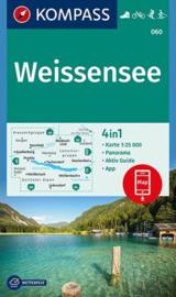 Wandelkaart Weissensee | Kompass 060 | 1:25.000 | ISBN 9783990444504