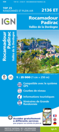 Wandelkaart Rocamadour, Martel, Gouffre de Padirac, Gramat | Dordogne | IGN 2136ET - IGN 2136 ET