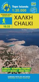 Wandelkaart Chalki | Anavasi 10.33 | 1:20.000 | ISBN 9789609137935