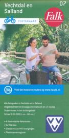 Fietskaart Vechtdal en Salland nr. 7 | Falk | Fietskaart 1:50.000 | ISBN 9789028703735