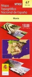 Wandelkaart - Topografische kaart Muxia | 1:50.000 | CNIG 67 | ISBN 8423434006707
