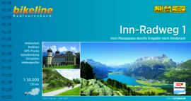 Fietsgids Inn Radweg 1 - 230 km | Bikeline | Fietsgids Tirol: van de Malojapas naar Innsbruck | ISBN 9783850008075
