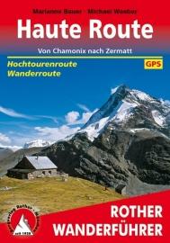 Wandelgids - Trekkinggids Haute Route | van Chamonix naar Zermatt | Rother Verlag | ISBN 9783763344604