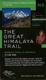 Wandelkaart Ganesh Himal & Manaslu : The Great Himalaya Trail N6 | Newgrove Consultants | 1:100 000 | ISBN 9780956981752