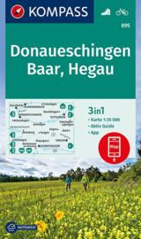 Wandelkaart Donauschingen-Baar-Hegau | Kompass 895 | 1:35.000 | ISBN 9783990443682
