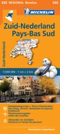 Wegenkaart Nederland Zuid | Michelin | 1:200.000 | ISBN 9782067183407