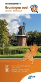 Fietskaart Groningen oost   ANWB 9   1:66.666    ISBN 9789018047108
