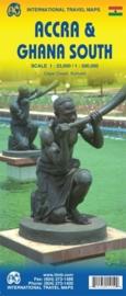 Wegenkaart Ghana | ITMB | 1:500.000 | ISBN 9781553415152