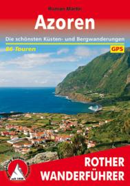 Wandelgids Azoren   Rother Verlag   ISBN 9783763343676