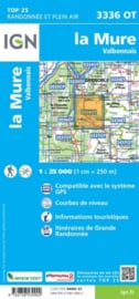 Wandelkaart La Mure, Valbonnais, Laffrey | IGN 3336OT - IGN 3336 OT | 1:25.000 | ISBN 9782758539902