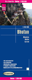 Wegenkaart Bhutan | Reise Know How | 1:250.000 | ISBN 9783831773336