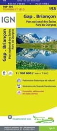 Wegenkaart - fietskaart Gap - Briancon | IGN 158 | ISBN 9782758547693