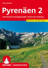 Wandelgids Pyrenäen 2 | Rother Verlag | Französische Zentralpyrenäen: Arrens bis Seix | ISBN 9783763343089