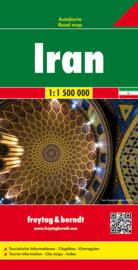 Wegenkaart Iran | Freytag & Berndt | 1:1,5 miljoen | ISBN 9783707909777