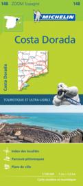 Fietskaart - wegenkaart Costa Daurada | Michelin 148 | ISBN 9782067218208