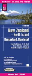 Wegenkaart  Nieuw Zeeland - Noordereiland , North Island | Reise Know-How Verlag | 1:550.000 | ISBN 9783831773961