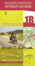 Sportoena fietskaart 01B Belgische kust Fietsroute Netwerk | 9789078976196