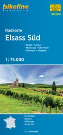 Fietskaart  Elsass Süd - Elzas Zuid | Bikeline | ISBN 9783850004770