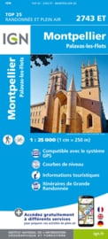 Wandelkaart Montpellier - Palavas Les Flots | Languedoc |  IGN 2743ET - IGN 2743 ET | ISBN