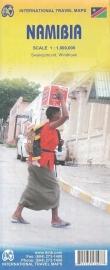Wegenkaart  Namibië - Namibia | ITMB | ISBN 9781553413400