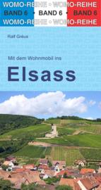 Campergids Mit dem Wohnmobil ins Elsass | WOMO 06 | Met de camper door de Elzas | ISBN 9783869030685