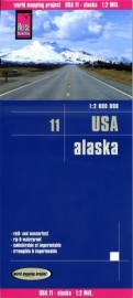 Wegenkaart Alaska | Reise Know how | 1:1,25 miljoen | ISBN 9783831774043