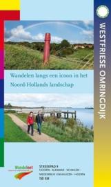 Wandelgids Westfriese Omringdijk | Nivon - Streekpad 9 | ISBN 9789492641090