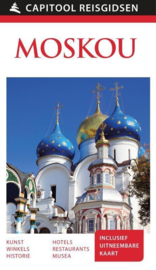 Stadsgids Moskou   Capitool   ISBN 9789000342006