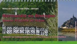 Fietsgids Normandië en Bretagne - tussen Ansjovis en Anjou | Pirola | ISBN 9789064558269